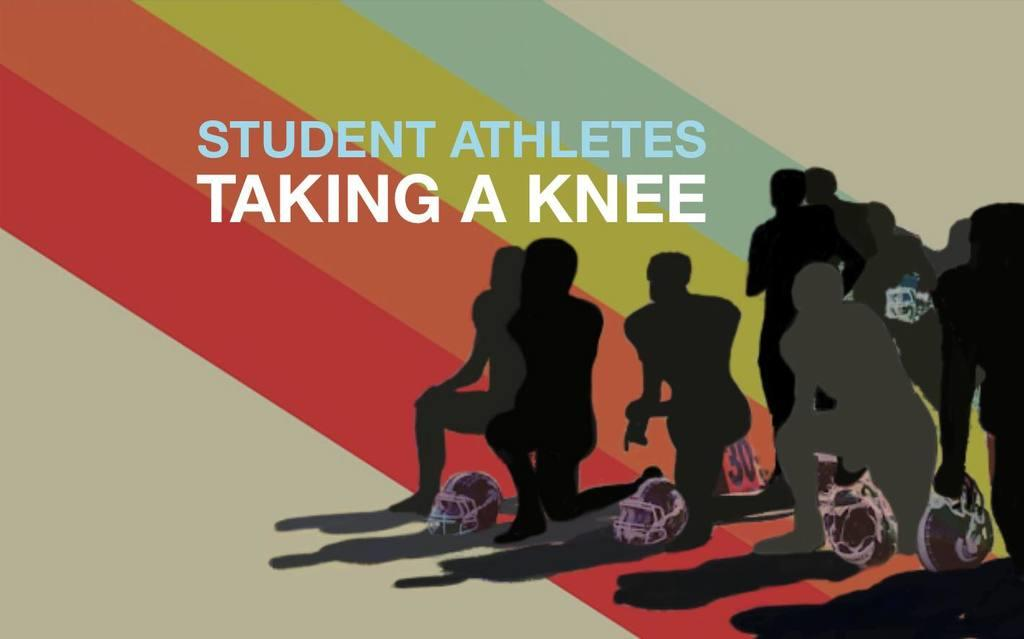 "Do student athletes have a right to ""take a knee?"""