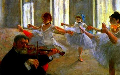 Degas violin