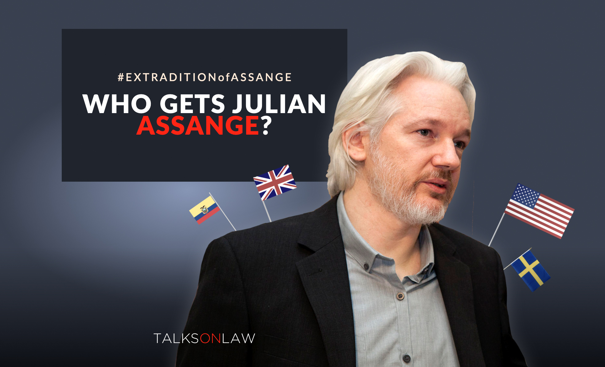 Extradition Battle: Who Gets Julian Assange?