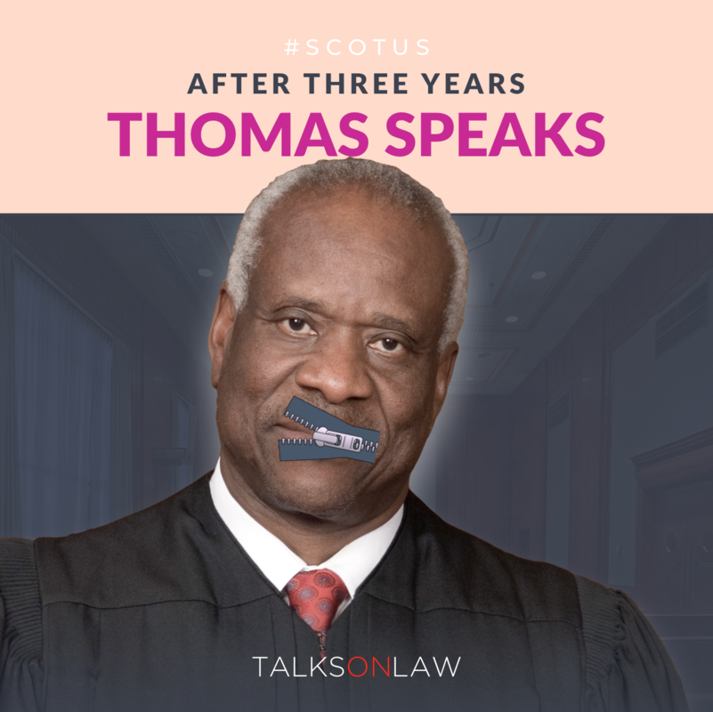 Justice Thomas Speaks